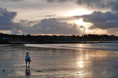 Vazon, on a December afternoon